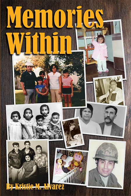 This is the story of Kristie Alvarez and the Alvarez family from the time when Kristie's parents were born until the time this book was published in 2017. It depicts the heartfelt story of how Kristie was raised and grew up with a Vietnam veteran father who fought proudly for their freedom, came home and still managed to provide for his family. Memories Within tells how the Alvarez family made it through their many trials and tribulations including dark memories and good memories. Kristie Alvarez thanks the Lord Jesus Christ for helping her write this autobiography!.